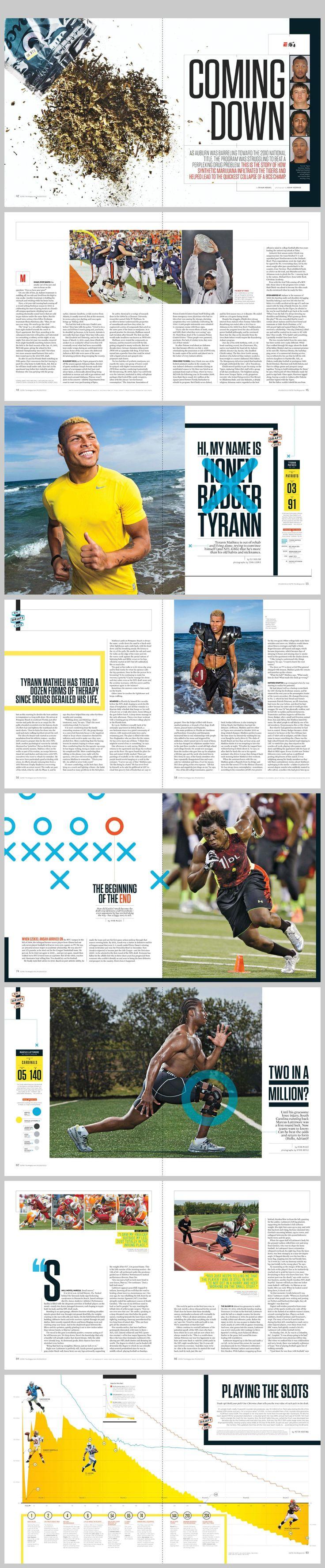 espn magazine April 29, 2013