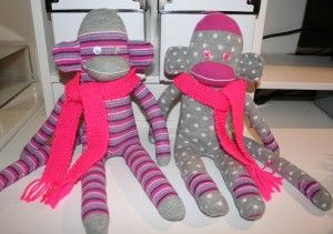 How to.. make a Sock Monkey - Red Ted Art's Blog