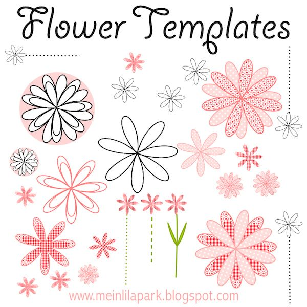 Free Card Making Templates Printable Room Surf Intended For Template For Cards To In 2020 Flower Templates Printable Flower Templates Printable Free Flower Template
