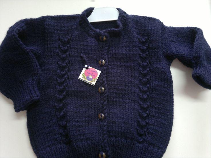 saquito en tricot para varon