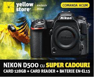 Aparat foto DSLR Nikon D500 body – YellowStore.ro Aparat foto DSLR Nikon D500 body, 20.9MP, Black la Yellowstore, pret avantajos. Livrare gratuita, plata in rate. SHOP.YELLOWSTORE.RO  Similare
