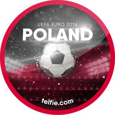 New TELFIE App Stickers For UEFA EURO 2016: POLAND