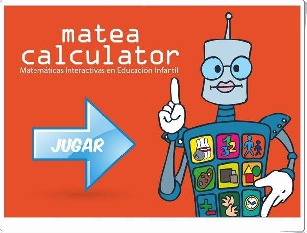 """""""Matea Calculator"""" es una aplicación, de educarex.es, que trata todos los aspectos de las Matemáticas en Educación Infantil de modo interactivo con el alumno. Con tres niveles: para Educación Infantil de 3, 4 y 5 años."""