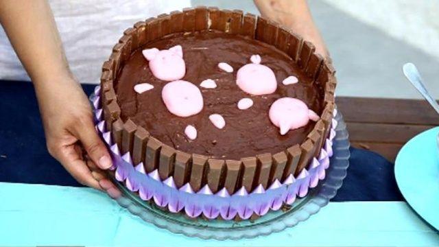 Торт с поросятами - Доброе утро - Первый канал