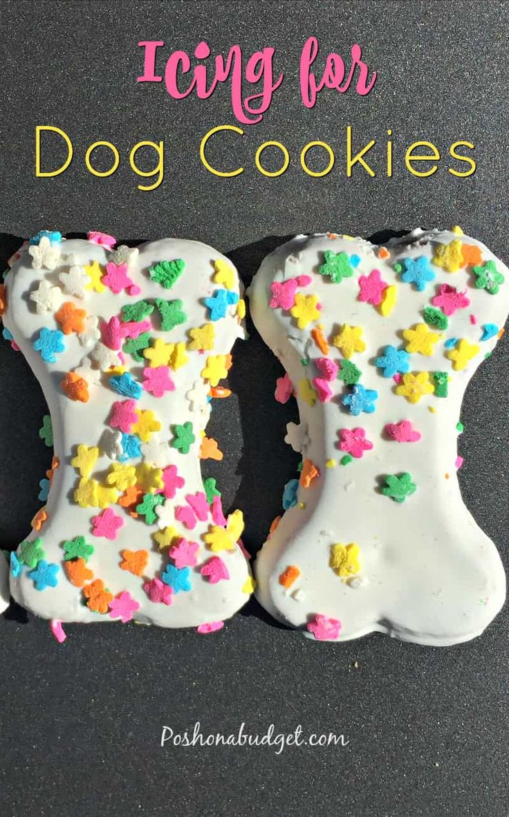 How to make icing doe Dog Cookies