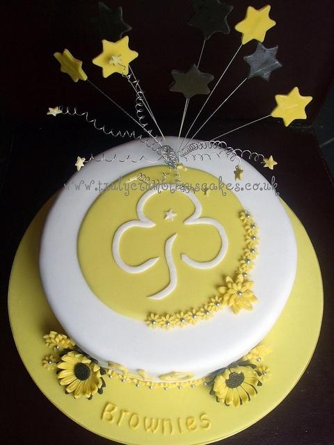 Cake for Brownie Guide Leader, via Flickr.