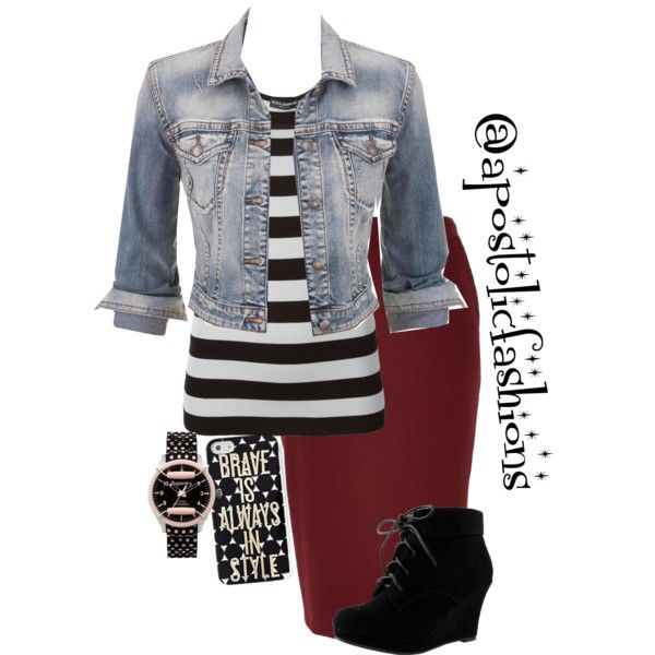 Apostolic Fashions #1302 by apostolicfashions on Polyvore featuring Dolce&Gabbana, maurices, River Island, Superdry and Keds