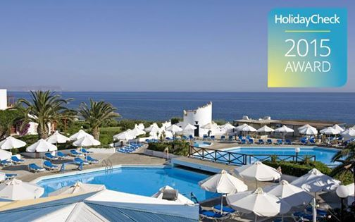 HolidayCheck Award 2015 for Cretan Village. Thank U Aldemar friends 4 your excellent reviews! #Celebratelife #ARHolidays