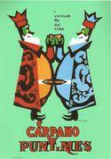Armando Testa due re Carpano 1949