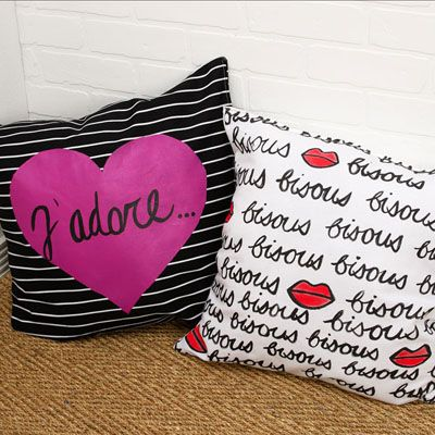 Cute Heated Pillows : Pillow DIYs: 10+ handpicked ideas to discover in Other 3d fashion, Monogram pillows and Throw ...
