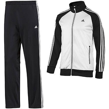 Men's Riberio Track Suit, White / Black £47
