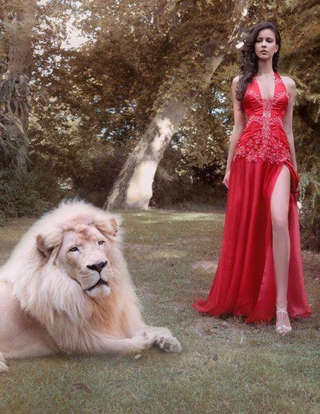 piros-muszlin-organza-estelyi-ruha, red organza dress