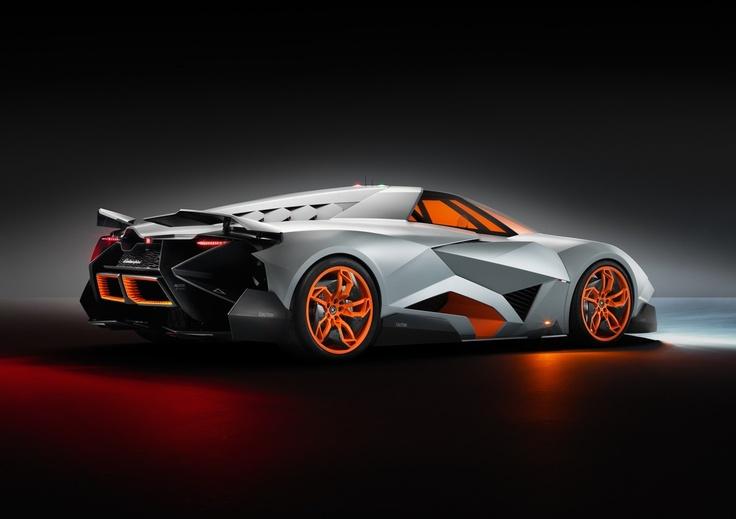 Lamborghini Egoista, le 50 e Anniversaire