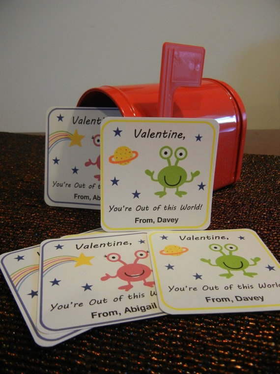 Personalized 3x3 Valentineu0027s Day Cards Out Of By ThePaperPeaPod, $5.00