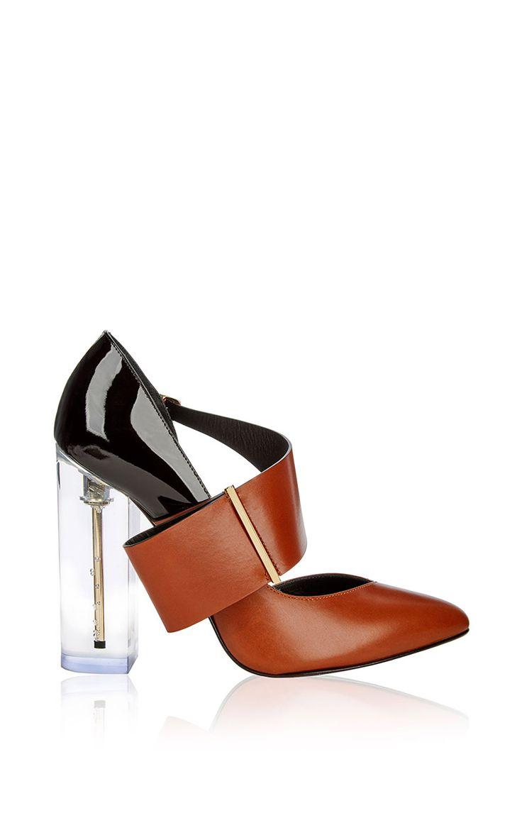 Mirabelle Pump by Richardo Braqo for Preorder on Moda Operandi