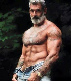 to be old and grey and ripped