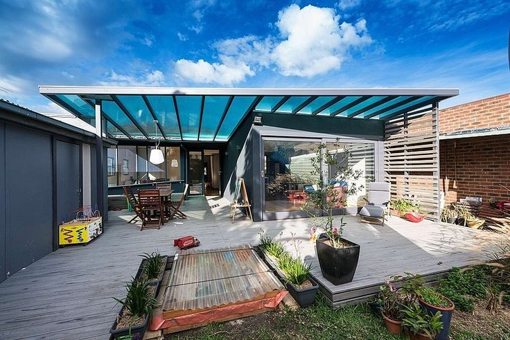 Maybe A Glass Like Pergola On The Green Roof? Rain Protection.. But Still  Getting The Sunshine | H House | Pinterest | Weatherboard House,  Architecture And ...