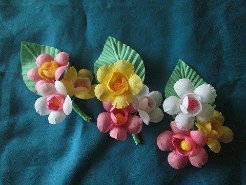 Цветы из ткани своими руками. Свадебная бутоньерка для гостей. Выкройка (2 часть)мастер класс. - YouTube