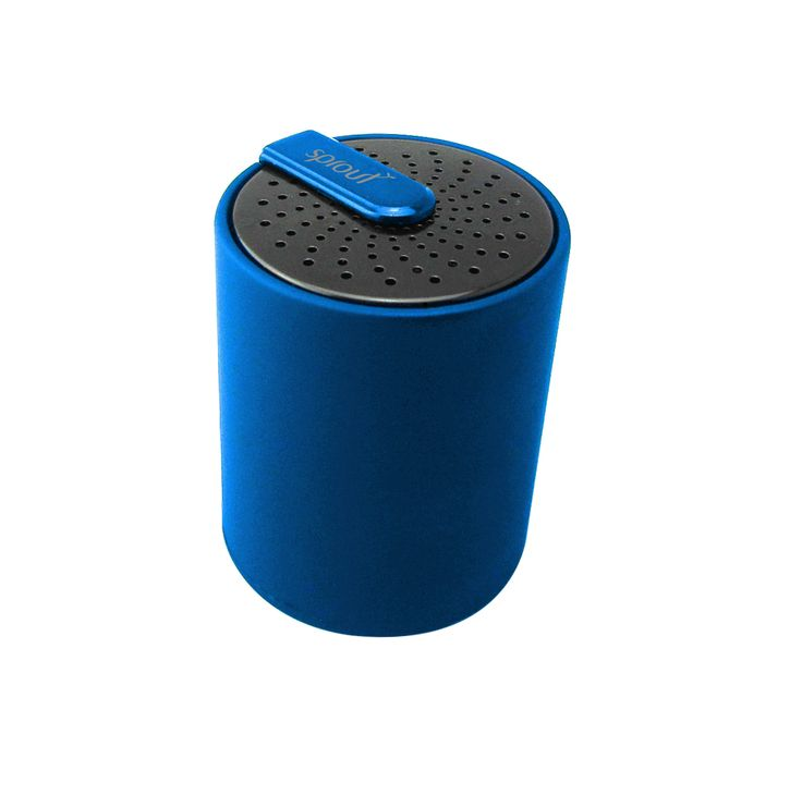 They say good things come in small packages and the Sprout Tempo Bluetooth Speaker is no exception! This super compact speaker allows you to take your music with you wherever you go! Connect via Bluetooth to your iPod, iPhone, iPad or any Bluetooth enabled device.  $39.99 #sprout #freedomtogrow #speaker #tempo