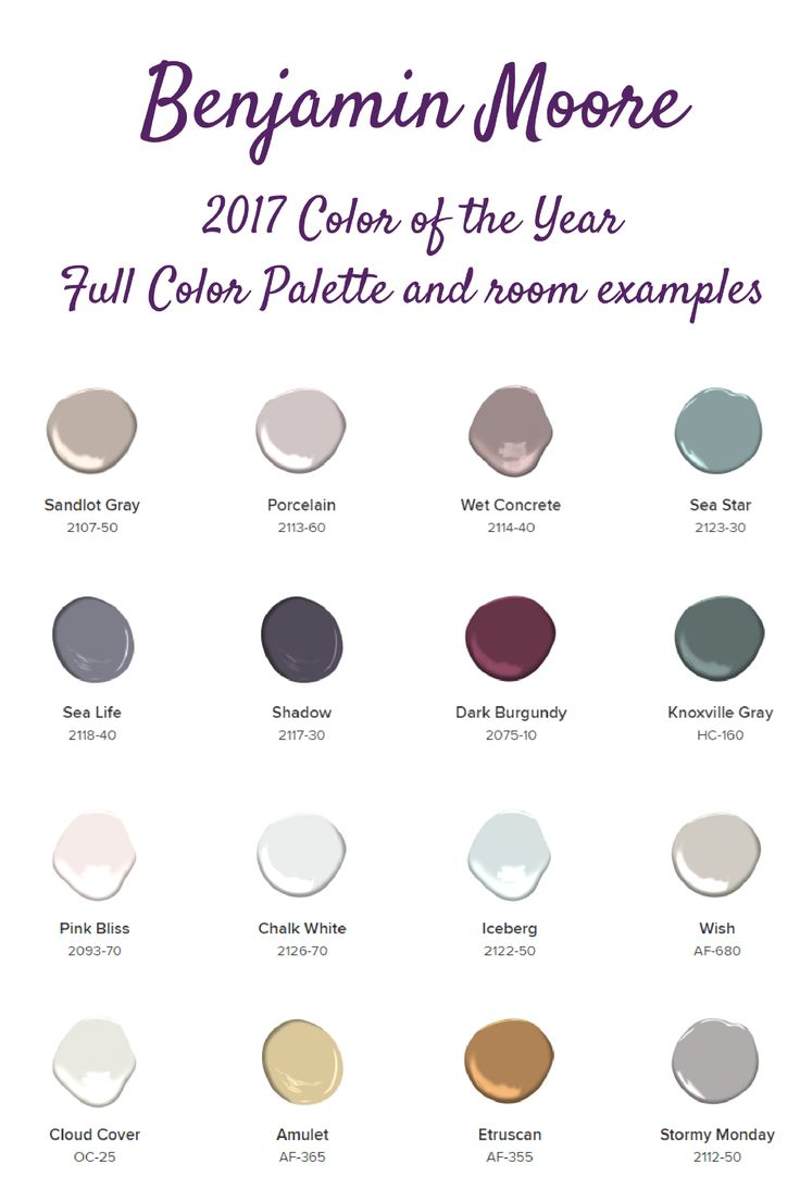 Benjamin Moore 2017 Color Of The Year A Home Crafter