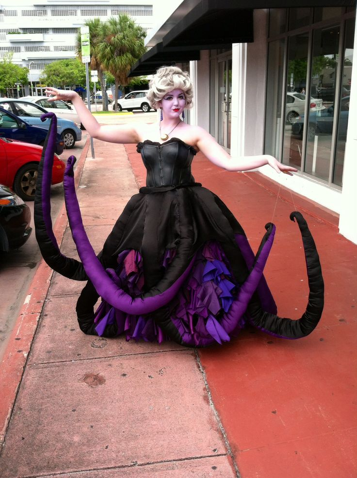 34 best ursula images on pinterest carnivals costumes and comic con handmade ursula costume ursula cosplay ursula costume diyboo solutioingenieria Image collections