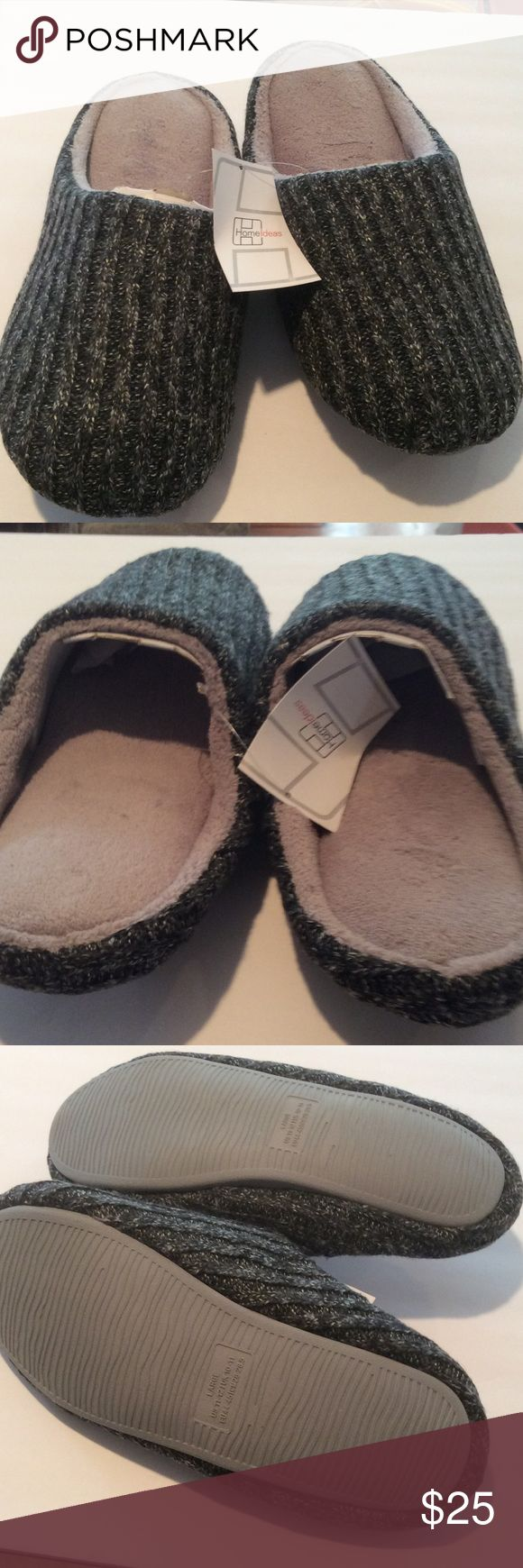 NEW MENS Slippers Brand new, size Large, so worm, light & soft Shoes #MensSlippers