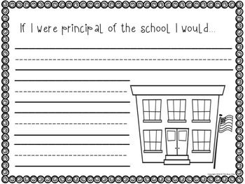 Back to School Writing Prompts (for Kindergarteners) - 29 fun prompts to get students writing and keep them engaged the first month of school.