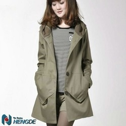 COT220 Designer Long Ladies Rain Coats lady Coats Lady Wind Coats Plus Size Winter Coats