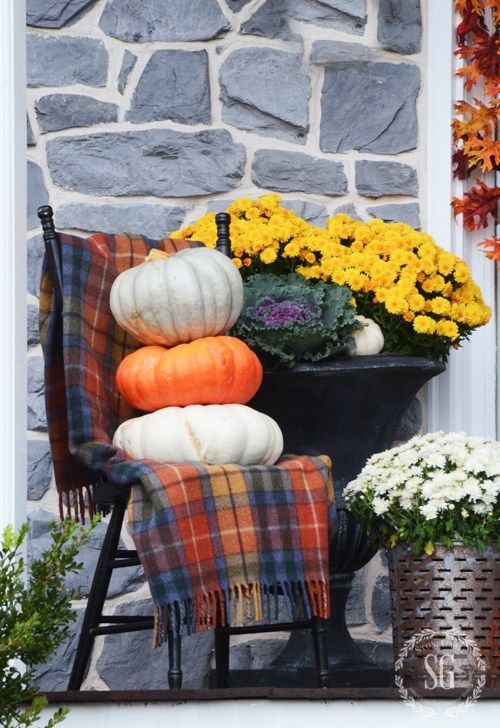 Outdoor Ideas For Fall Lots Of Easy To Do Idea To Decorate