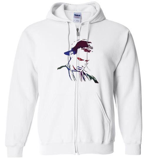 awesome Logic Tour 2016 Logo Unisex zip hoodie