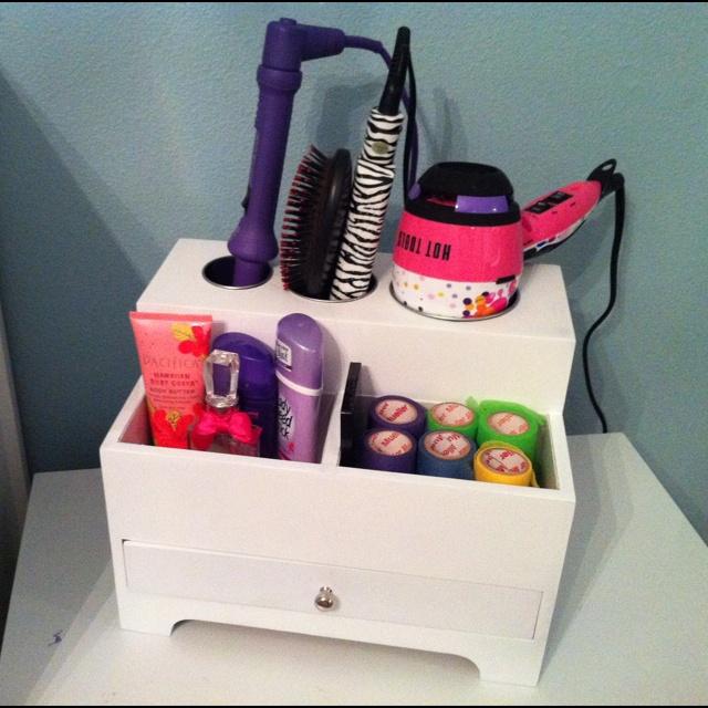 Awesome hair organizer - I need something like this!