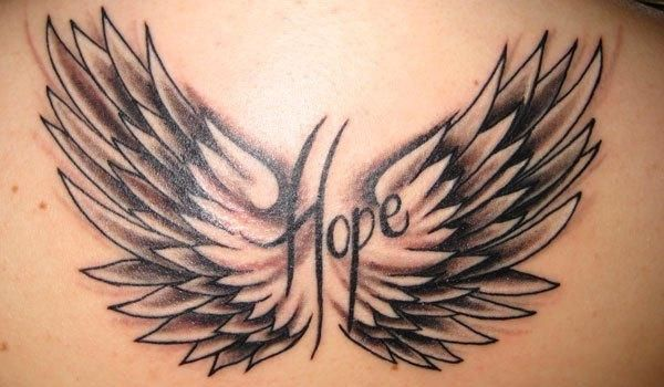 Hope  with  WINGS! Pretty cool.... Except I would want love in the middle