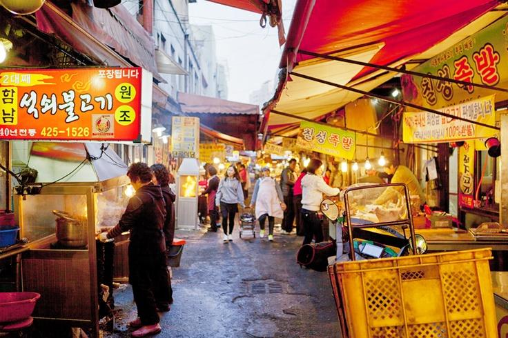 Daegu Chilseong Market - Daegu, South Korea. Been there. Done. That.