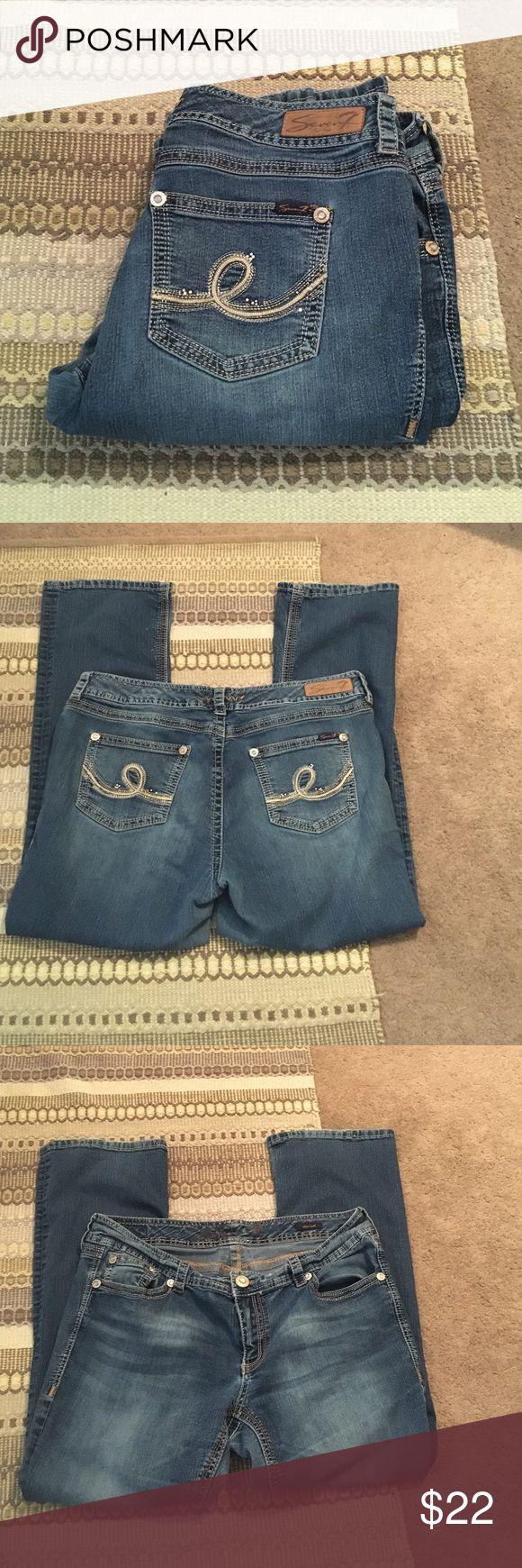 Plus size Seven 7 jeans Plus size Seven slim boot cut jeans Seven7 Jeans Boot Cut