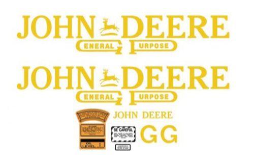 REPALCEMENT-DECAL-DKJDG1-FOR-MODEL-G-JOHN-DEERE-TRACTOR-1938-1942-664766635571