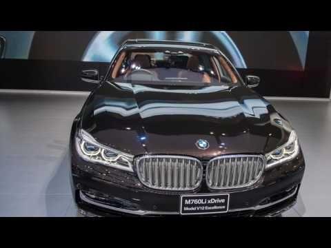 BMW M760Li xDrive (2017) - pictures, information & specs
