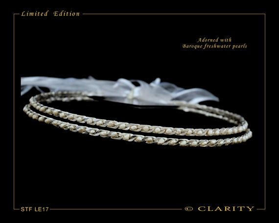 NEW LIMITED EDITION Silver Plated Stefana With Fresh by ClarityGR