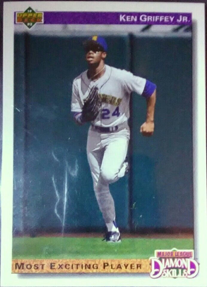 1992 Upper Deck Baseball Card - Ken Griffey Jr. #650 (Diamond Skills) - NM/MT #SeattleMariners