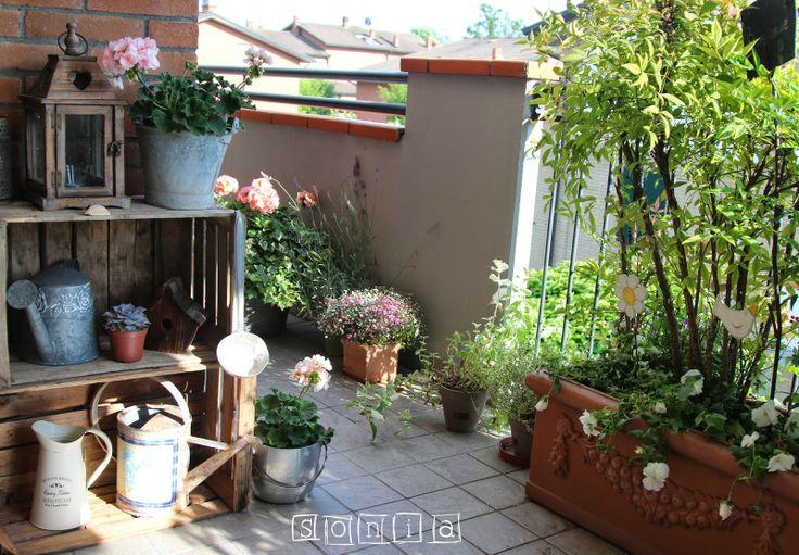 Terrazzi arredati con pallet eres fan de los palets mira - Immagini terrazzi arredati ...