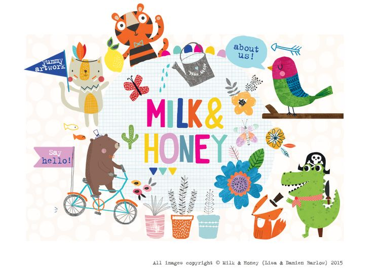Milk & Honey Studio | Illustration and Print Design