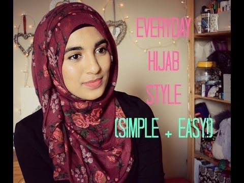 My Everyday Hijab Style (Simple and Easy)