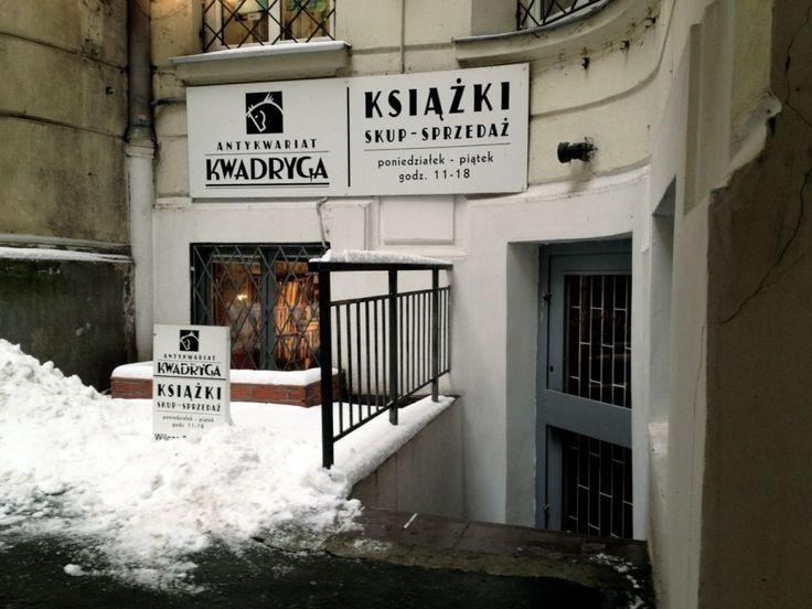 Antykwariat Kwadryga | Wilcza 29 A lok. 25 00-544 Warszawa Warsaw, Poland