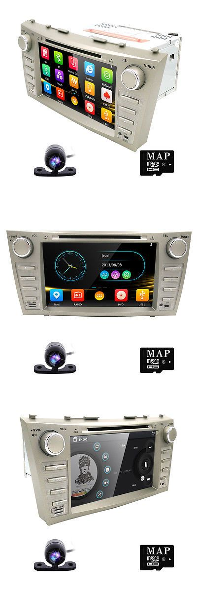Video In-Dash Units w GPS: 8Car Gps Navigation Dvd Player Bluetooth Ipod Toyota Camry 2007-2011 Camera+Map -> BUY IT NOW ONLY: $171.0 on eBay!