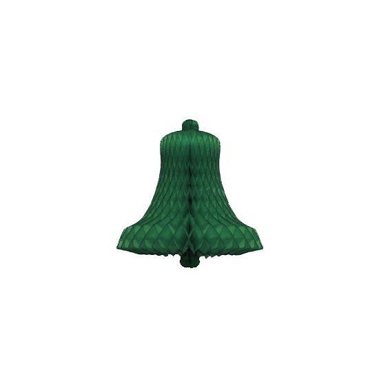 Kerstklokken van papier groen  Decoratie kerstklok groen 50 cm. Groene kerstklok van honingraat papier. Ongeveer 50 cm groot. Niet brandvertragend.  EUR 5.50  Meer informatie