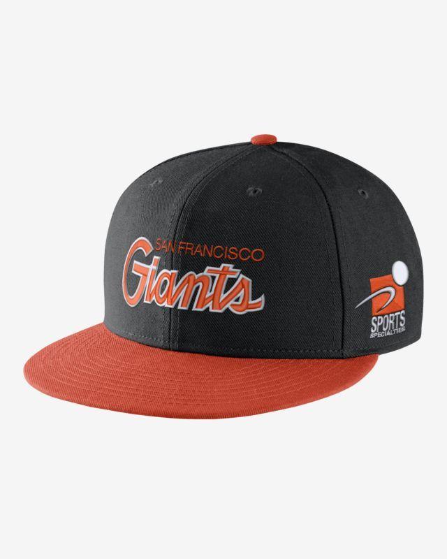20b7f3737f7 Nike Pro Sport Specialties (MLB Giants) Adjustable Hat