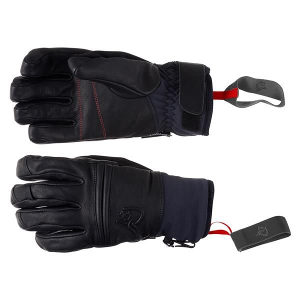 Røldal dri insulated Short Leather Gloves