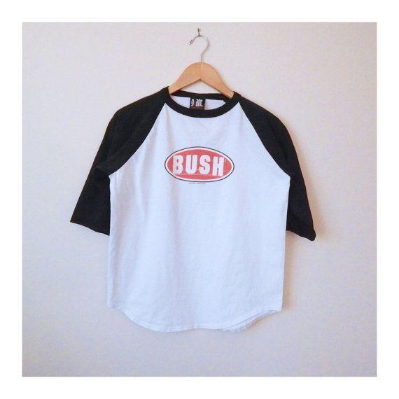 BUSH Band Tshirt der 90er Jahre Gavin von NewDayRisingVintage, $28.00