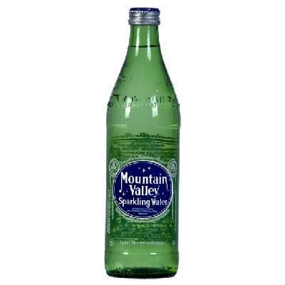 Mountain Valley Spring Water Sparkling Water Glass (24x16.9oz )
