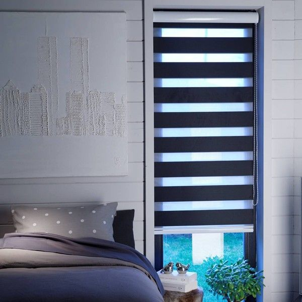 store enrouleur jour nuit noir semi coffre stores pinterest. Black Bedroom Furniture Sets. Home Design Ideas