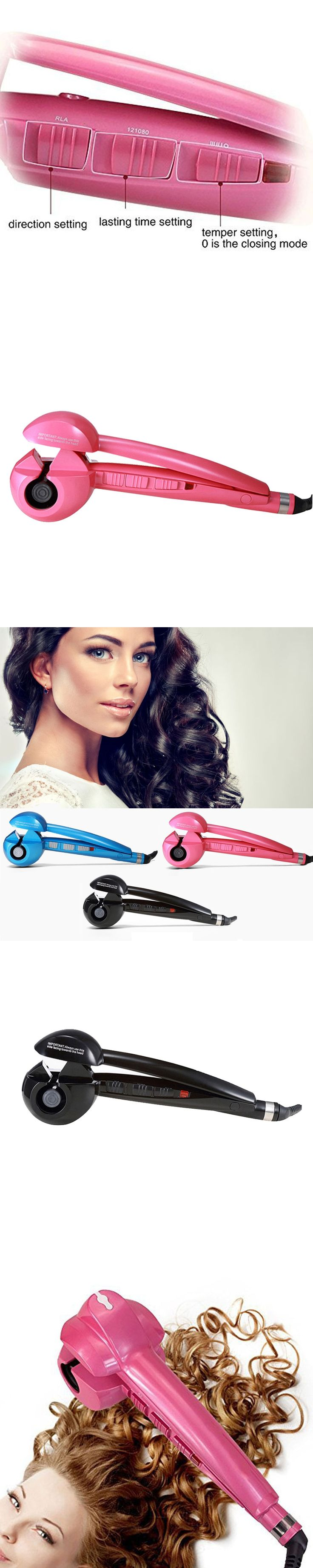 Magic Automatic Hair Curler Styler Heating Curling Hair Styling Tools Iron Hairs Curl Wave Machine EU US UK Plug Promotion